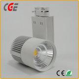 Las luces de pista LED AC110V/220V 15W/18W pista LED FOCOS LED de luces las luces de pista
