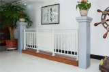 Balcon en acier galvanisé décoratif de haute qualité 13 de clôture d'alliage de Haohan Alluminum