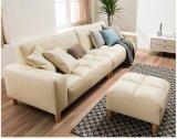 Sofà domestico moderno del cuoio della mobilia