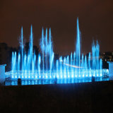 Fontaine extérieure de stationnement de l'eau de danse de musique de Fenlin 22m grande
