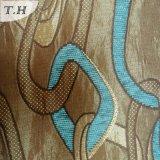 Prodotto intessuto Chenille blu del sofà del jacquard con il cappotto 280GSM