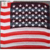 2017 новой моды леди вискоза шаль с Америки флаг печати