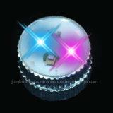 자석 클립 번쩍이는 LED 바디 빛 접어젖힌 옷깃 핀 (3161)