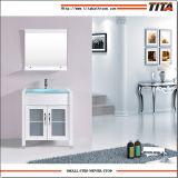 Античном стиле верхней стеклянной туалетный столик в ванной комнате9120-36T W-a
