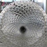 Lámpara pendiente de la dimensión de una variable de cristal transparente europea de la piña