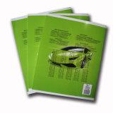 Тетрадь книги тренировки студента блокнота школы верхнего качества персонализированная дешевая