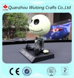 O crânio Handmade feito sob encomenda da resina Bobble a cabeça para a decoração do carro