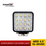 4.5 '' lampada funzionante quadrata di 48W IP68 LED per l'automobile