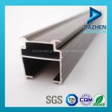 Profilo di alluminio di vendita della tenda della guida calda della pista con anodizzato