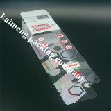 Cassetto di plastica chiaramente piegante dell'alimento del PVC stampato colore di Panton per il pacchetto dei biscotti (cassetto dell'alimento)