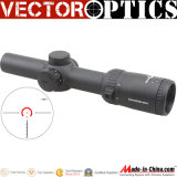 Optique vectorielle Thanator 1-8X Portée 1-8X24 Riflescope avec Rouge Illuminé Vtc Mil Retile 1/10 Mil Cqb Compact