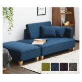 2017 Novo Sofá de tecido Móveis para sala de estar com otomano (K79)