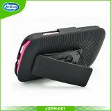 Shockproof Hybrid Armor Rubber Belt Clip Hard Stand Case Case para Alcatel Pixi 4 / 4034A
