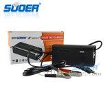 Suoer 12V 3un cargador de batería inteligente modo de carga cargador de batería de tres etapas (hijo-1203D)