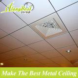 2017 tipos de los paneles de techo de aluminio suspendidos de la oficina 2X2