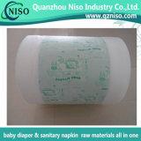 Transpirable impresión Película laminada de pañal del bebé Materias Primas (LF-012)