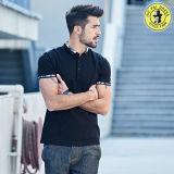 Le plus défunt polo de mode de modèle pour des T-shirts des hommes, chemises de robe robustes occasionnelles