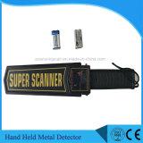 Hoher empfindlicher gute Qualitätskarosserien-Scanner-Handmetalldetektor MD3003b1