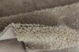 Shuのベルベティーンおよびマイクロ羊毛の結合されたファブリック