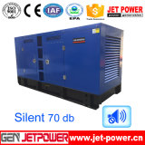 Conjunto de generadores diesel 125kVA de la refrigeración por agua con el tanque de 10hours Fule