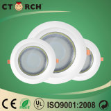 Nouveau design slim Ctorch isolé Downlight Led COB 10W