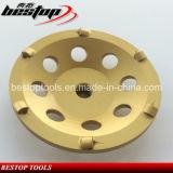 4.5 roda da estaca do diamante da polegada PCD para a moedura concreta