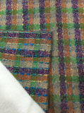 Estilo colorido de la verificación de la tela común de las lanas
