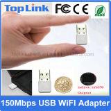 セリウムFCCが付いているスマートなTVのDongleのための上GS03熱い販売のNano 150Mbps無線WiFiのDongle