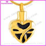 누군가를 위한 기억 보석 금 도금 또는 로즈 금 심혼 펜던트는 Ijd9524를 사랑했다