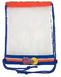 Sac de cordon de polyester avec le sac de promotion de maille