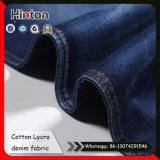 Популярный 9 унций бамбук джинсовой ткани хлопок лайкра Жан ткань