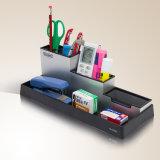 Support réglé de crayon lecteur de combinaison en aluminium pour la mémoire de bureau de papeterie