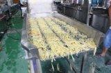 탈수를 헹구는 절단을 저미는 산업 감자 세척 껍질을 벗김 생산 라인 가공
