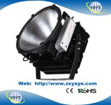 Yaye 18 Hot Vender 5 Anos de garantia à prova CREE IP65 500W High Bay LED de luz com / Meanwell Cree