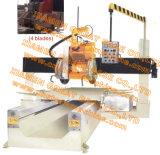Vollautomatische Steinmaschine des ausschnitts GBXJM-600-4