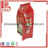 La bolsa de plástico de empaquetado del escudete del fertilizante lateral de la dimensión de una variable con la impresión