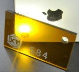 Акриловое зеркало плексигласа покрывает поставщика для индикации