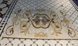 Le type musulman de la salle de séjour 1800*1200 a doré des carrelages de tapis