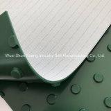 Haute qualité DOT Pattern Green PVC Convoyeur pour le tabac