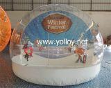 Globo gonfiabile della neve per la decorazione di festa