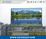 P10mm는 게시판 풀 컬러 옥외 발광 다이오드 표시의 광고를 방수 처리한다