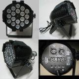 18X15W 5in1 DJ organizzano la PARITÀ della discoteca possono indicatore luminoso del LED