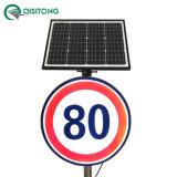Segnale di pericolo Backlit limitato personalizzato LED del segno di velocità di energia solare di traffico chiaro riflettente luminoso attivo di sicurezza stradale