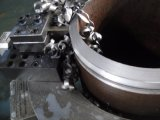 estaca de chanfradura pneumática da tubulação de aço e máquina do sulco para a soldadura