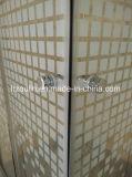 Pièce jointe carrée de douche sans plateau