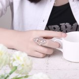 Peste Hotsale criativos na Europa dos homens e mulheres anéis jóias de cobre
