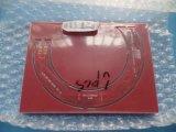 Placa PCB de Camada 8 Fr4 Soldermask Silckcreen branco com vermelho