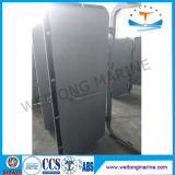 Portello resistente agli agenti atmosferici di alluminio del singolo foglio marino per la barca