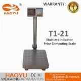 Échelle de pesage électronique T1-21 de plateforme informatique des prix 2017
