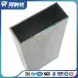 Revestimiento en polvo Perfil de aluminio extruido para puerta de aluminio